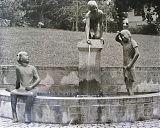 Bronze, Figurenhöhe 120 cm
